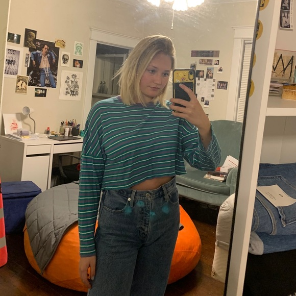 Urban outfitters crop long sleeve